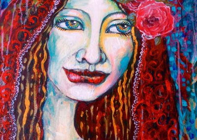 The red veil
