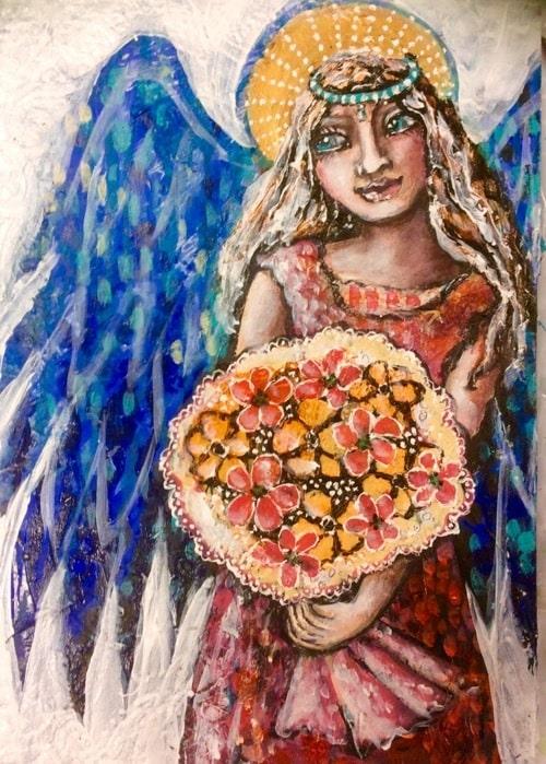 Angel blessing